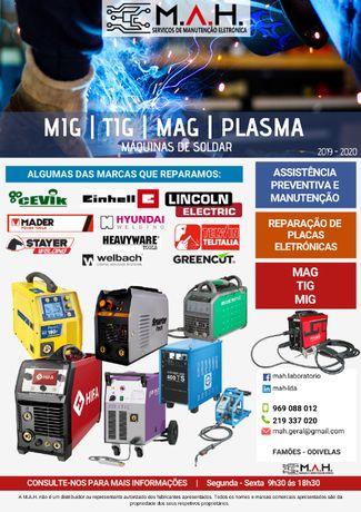 Máquinas soldar - Mig-Mag; Tig, Multiprocesso Todas as Marcas