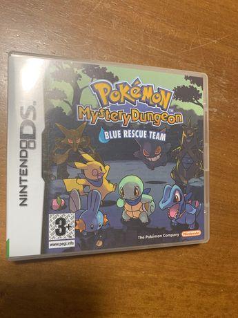 Caixa original Pokemon Mystery Dungeon-Blue Rescue Team
