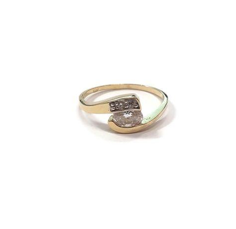 złoto pierścionek 585 2,12g rozmiar 16