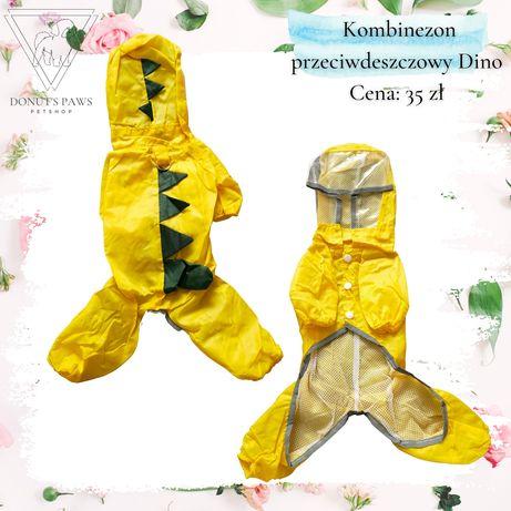 Ubranie dla psa - kombinezon przeciwdeszczowy Dino rozm. M