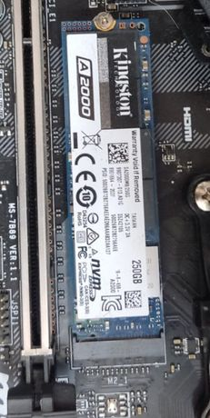 SSD NVM'e M2 Kingston A2000 250 gb
