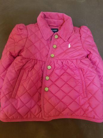 Нова стильна демисезонна куртка для дівчинки Polo Ralph Lauren
