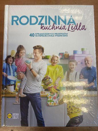 Książka Rodzinna kuchnia Lidla nowa