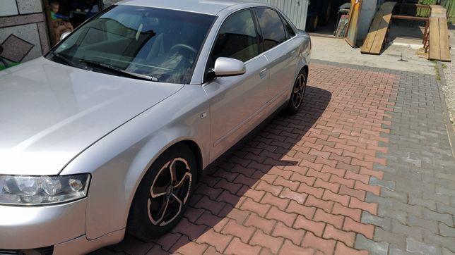 Audi a4 b6 2001r hak 1.9 TDI 130km