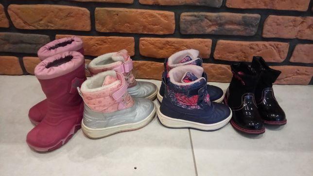 Buciki buty dziewczęce