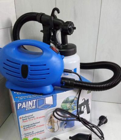 Распылитель для краски Распылитель пейнт зум 600Вт