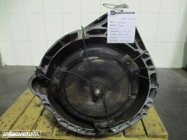 Caixa velocidades VW Touareg 5.0TDI V10