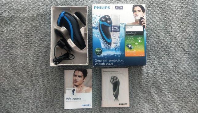 Praktycznie Nowa Golarka Philips Aqua touch AT 750
