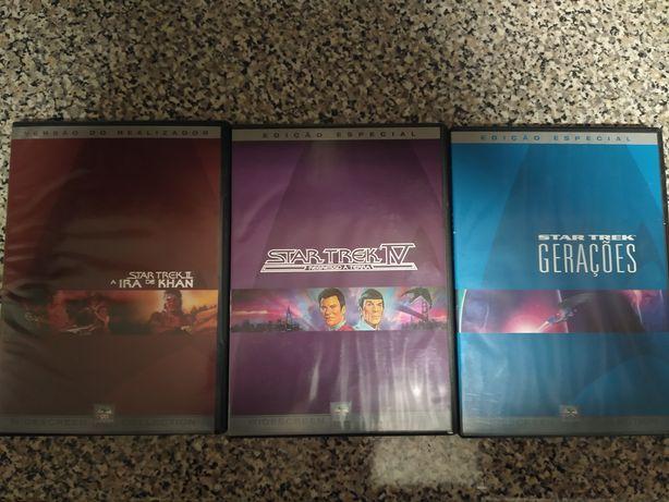Star Trek 2, 4 e Gerações DVD