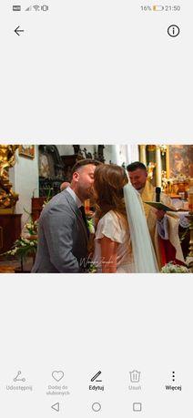 Suknia ślubna projekt wlasny