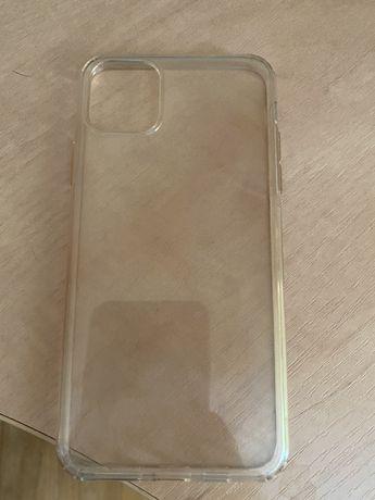 Прозрачный чехол на Iphone 11 pro Max