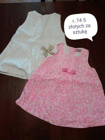 Sukienki r. 68-74