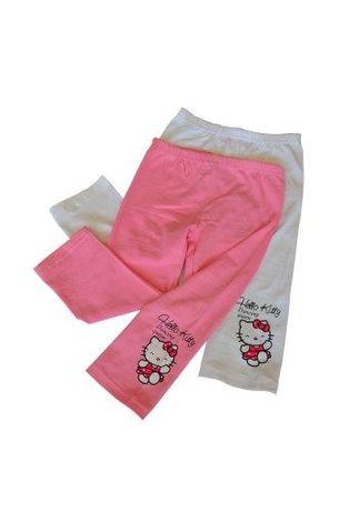Legginsy 3/4 Hello Kitty rozmiary 92 do 134