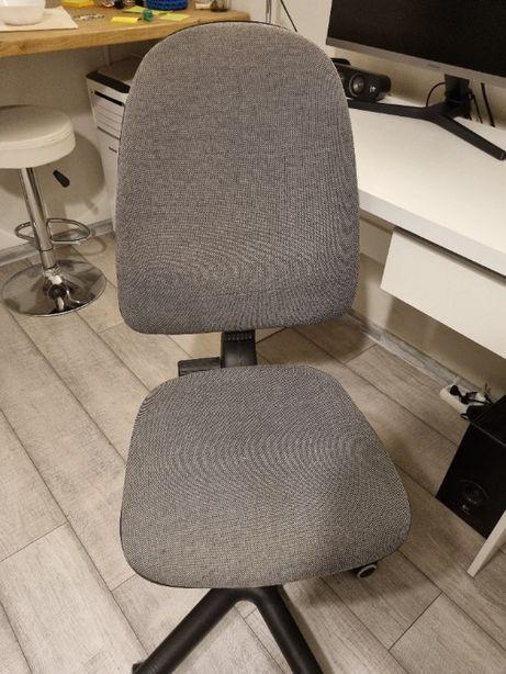 Fotel, krzesło biurowe szare - bardzo dobry stan