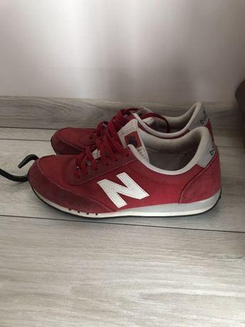 New balance 38 czerwone