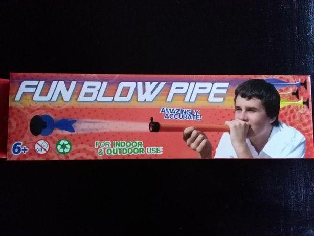 Zabawka Dmuchawka Fun blow Pipe DART