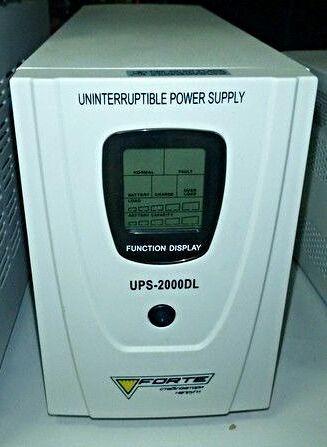 Інвертор (инвертор, преобразователь) УПС Fortre UPS2000DL упаковка