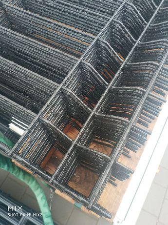 Ogrodzenia panelowe Promo OC+RAL fi4 h=1500mm z podmurówką 25 i montaż