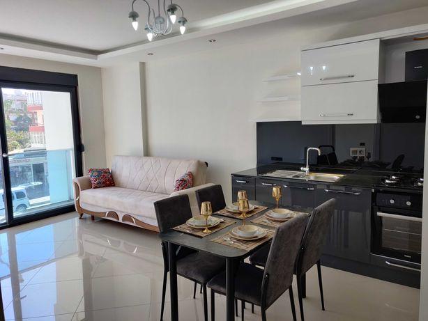 Квартира в Аланье, Турция. 55м2. ВНЖ. Новый дом, море в 250 метрах.