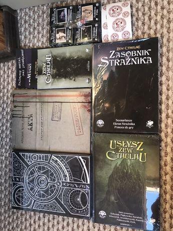 Zew Cthulhu 7 edycja Zestaw strażnika folia limitowana okładka