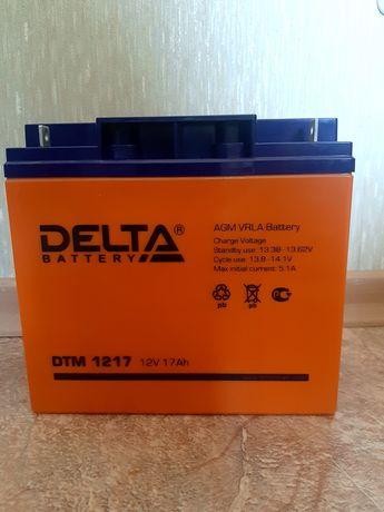 Продам новый аккумулятор delta