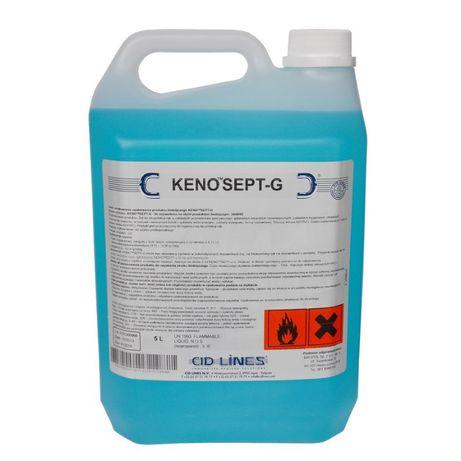 Żel do dezynfekcji rąk Kenosept G 5L nie podrażnia skóry Profesjonalny