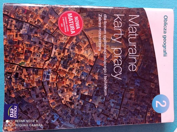 Oblicza geografii, maturalne karty pracy