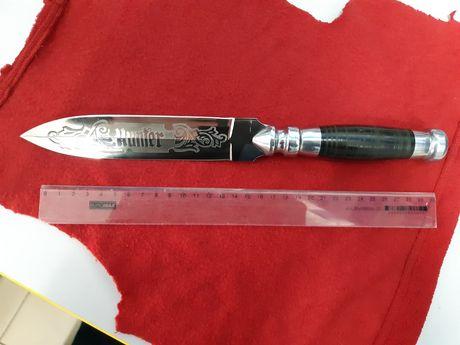 Нож, гравировка, ручная работа