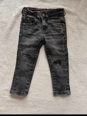 Spodnie reserved jeansy 92 nowe