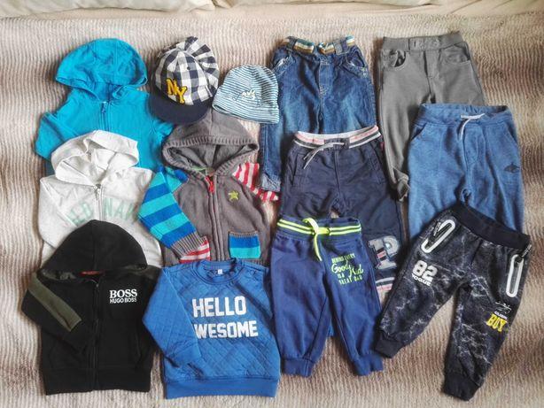 Mega Paka dla chłopca +9-12 m 74-80 ubranka chłopięce zestaw ubrań 67