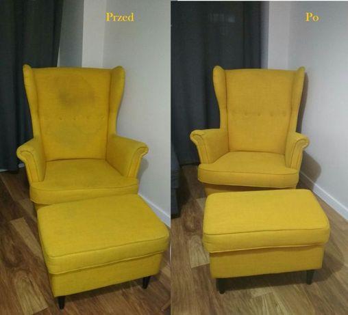 Pranie narożników, kanap, dywanów, foteli, krzeseł, itp. +osuszanie