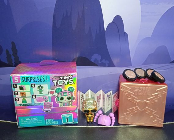 """набор L.O.L Surprise серия """"Tiny Toys"""" оригинал очень редкая"""