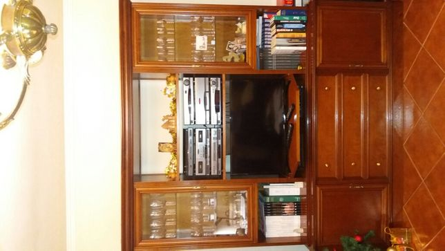 Conjunto de móvel de sala com bar