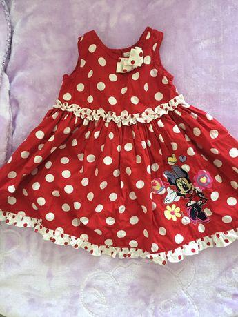 Платье на девочку с Мини