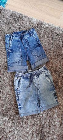 Spodenki jeansowe szorty bermudy  116 122 cool club reserved