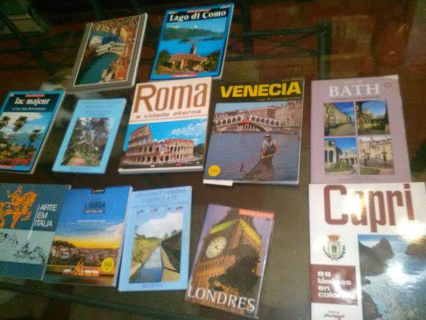Conjunto de 12 Livros Turísticos