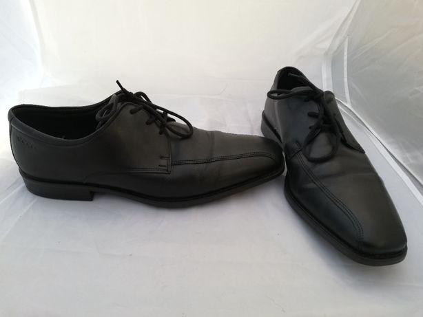 Buty skórzane Ecco r. 46 , wkł 31 cm