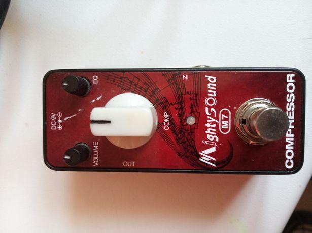 Mightysound M7 conpressor kompresor gitarowy efekt (Mooer Joyo)