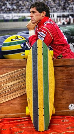 Tabuas Longboard, surfskate
