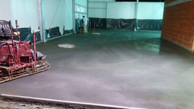 POSADZKI przemysłowo- betonowe