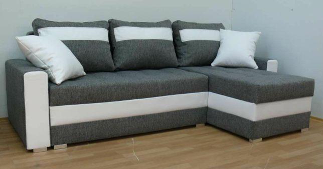 Nowy narożnik darmowa dostawa rogówka sofa kanapa funkcja spania