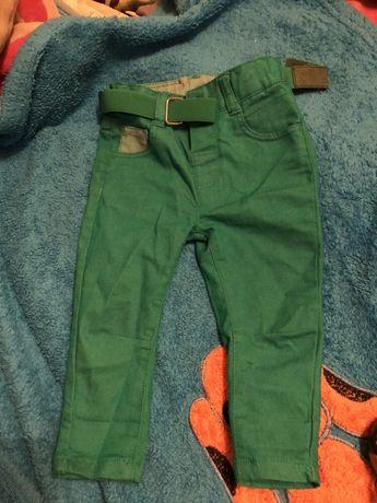 Модные штаны джинсы 9-12 месяцев наряд на 1 годик