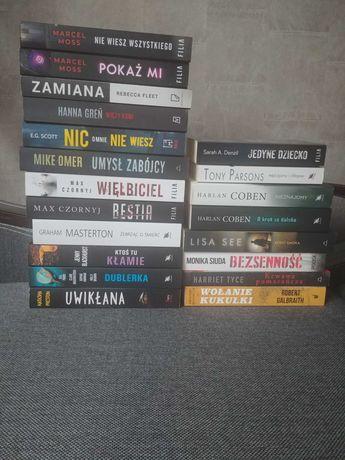 Książki kryminały, thrillery