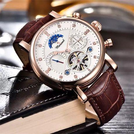Zegarek MARSSEL EXCLUSIVE Męski Wyjątkowy Elegancki Niepowtarzalny