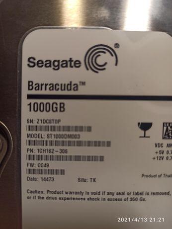 Продам жесткий диск на 1 Тб sata 3