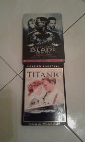 Edição Especial DVD Blade, este em caixa metálica colecionador