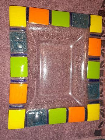 Patera, taca kolorowa do owoców i ciast