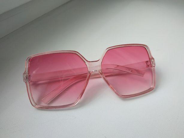 Очки солнцезащитные розовые