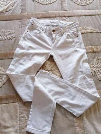 Calças ganga brancas