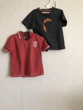 2 детские футболки